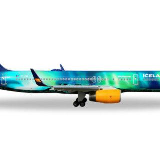"Herpa 562539 Boeing  757-200  Icelandair ""Hekla Aurora"""