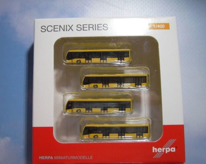 Herpa 562591 Scenic set Bus aereoporto