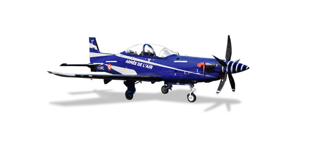Herpa 580335 French Air Force Pilatus PC-21