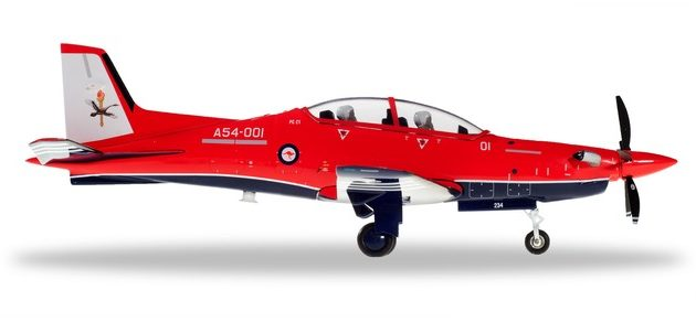 Herpa 580342 Royal Australian Air Force Pilatus PC-21