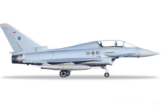 Herpa 580397 Typhoon Eurofighter Luftwaffe