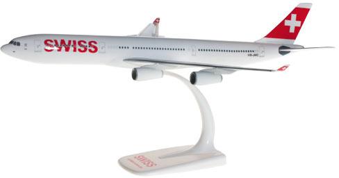 Herpa 610117-001 Airbus A340-300 Swiss International