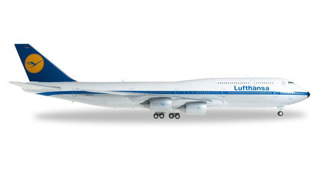 """Herpa 610599 Boeing 747-8 Intercontinental """"Retro"""""""