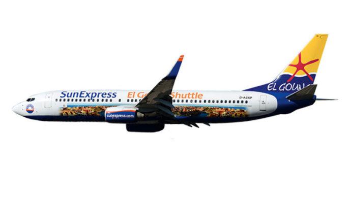 "Herpa 611053 Boeing 737-800 SUExpress ""El Gouna Shuttle"""