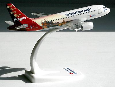 """Herpa 611138 Airbus A329 CSA """"Praga città magica"""""""