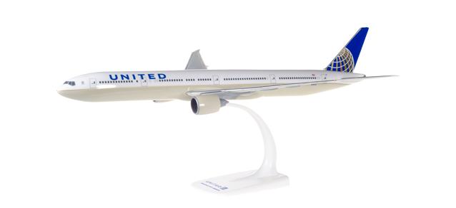 Herpa 611343 Boeing 777-300ER United Airlines