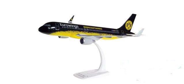 """Herpa 611602 Airbus A320 Eurowings """"BVB Mann.."""""""