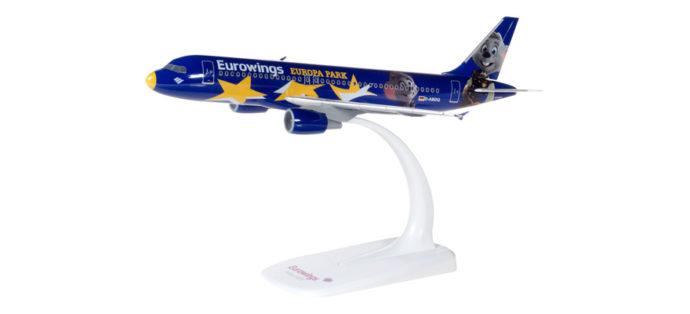 "Herpa 611695 Airbus A320 ""Eurowings Europa-park"""