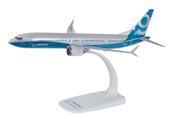 Herpa 611824 Boeing 737 MAX 9 Boeing colori della Boeing
