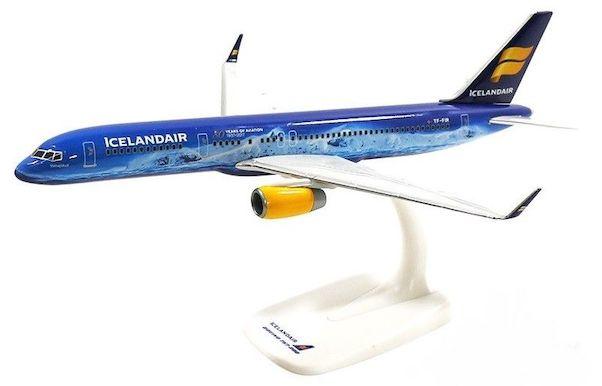 Herpa 611848 Boeing 757-200 Icelander 80 Anni