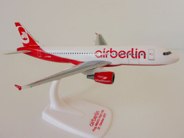 "Herpa 611923 Airbus A320 Airberlin ""Last Flight"""