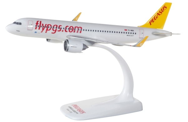 Herpa 612029 Airbus A320neo Pegasus Airlines