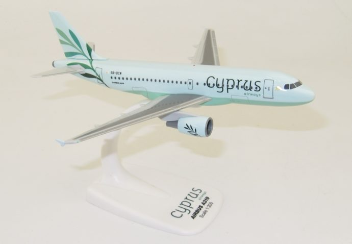 Herpa 612036 Airbus A319 Cyprus Airways