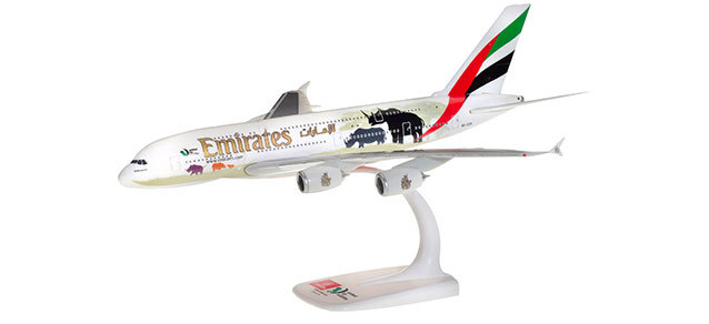 """Herpa 612180 Airbus A380 Emirates """"United for Wildlife"""""""