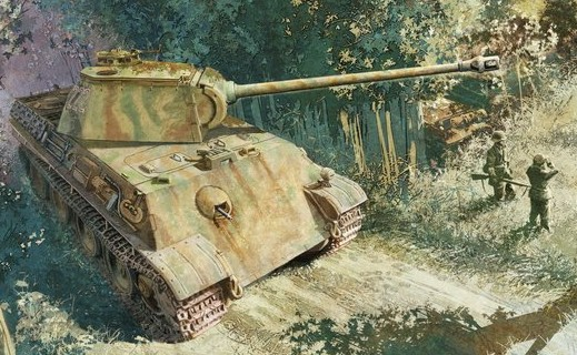 DRAGON 6267 CH PANTHER G EARLY PRODUCTION