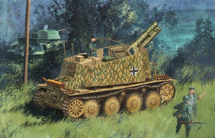 Dragon 6470 Sd.Kfz.138/1 Geschutzwagen 38 H fur s.IG.33/1