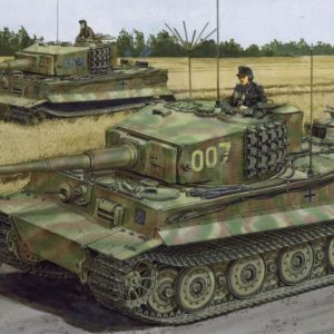"Dragon 6800 Wittmann's Last Tiger Include ""Wittmann figure"""