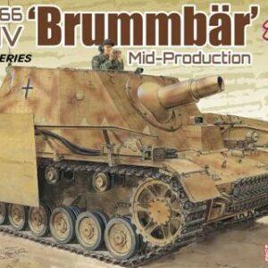 Dragon 6892 Sd.Kfz.166 Stu.Pz.IV BRUMMBÄR MID PRODUCTION (2 IN 1)