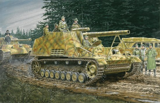 Dragon 6935 Sd.Kfz.165 Hummel Early/Late Production (2 in 1)