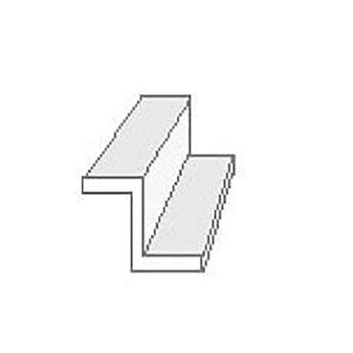"""Evergreen 755 Profilato a canale """"Z""""  350mm 4mm(3)"""