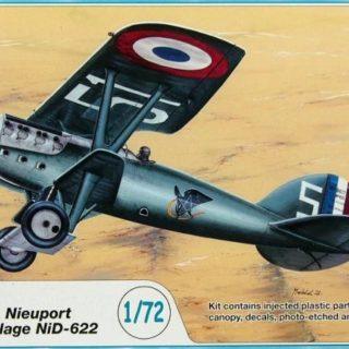 Azur A083 Nieuport-Delage Ni-D 622C.1