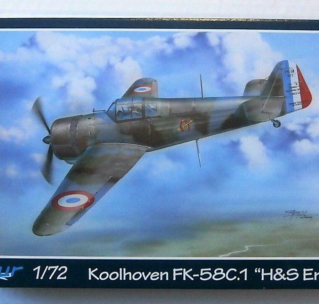 Azur A095 Koolhoven FK-58C.1