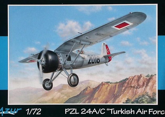 Azur A102 PZL.24 A/C Turkish AF