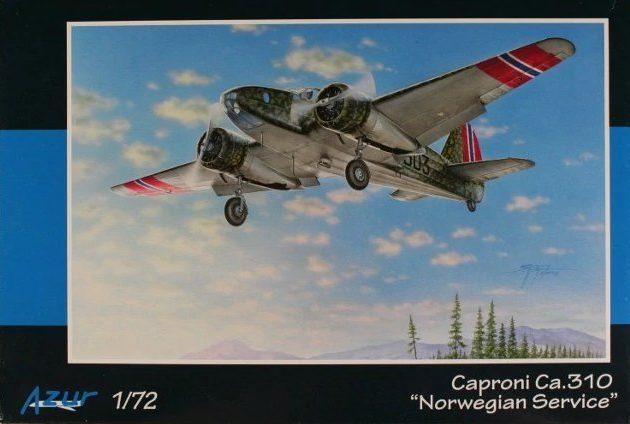 Azur A103 Caproni Ca.310 Norwegian service