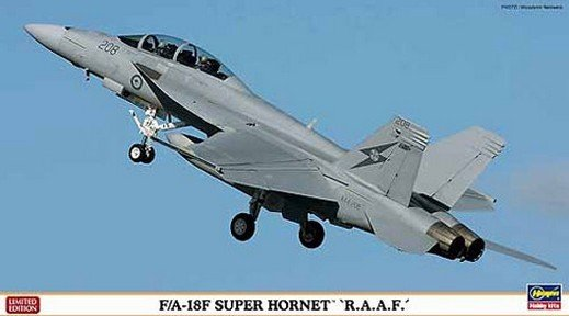 HASEGAWA HA01986 F/A 18F SUPER HORNET R.A.A.F