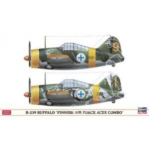 HASEGAWA HA01992 B-239 BUFFALO FINNISH AIR FORCE ACES COMBO
