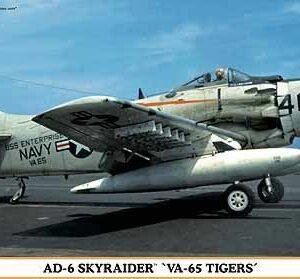 HASEGAWA HA02005 AD - 6 VA-65 TIGERS