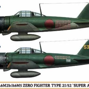 HASEGAWA HA02009 ZERO FIGHTER TYPE 21/52