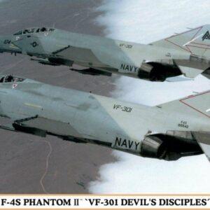 HASEGAWA HA02023 F-4S PHANTHOM II VF-301