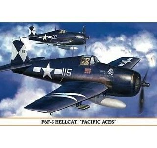 HASEGAWA HA07313 F6F-5 PACIFIC ACES