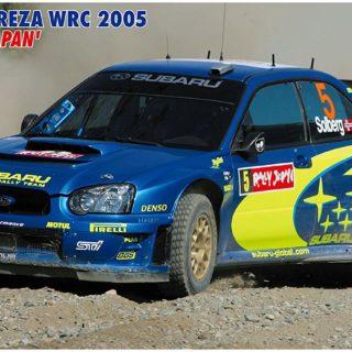 HASEGAWA HA20353 SUBARU IMPREZA WRC 2005 RALLY JAPAN