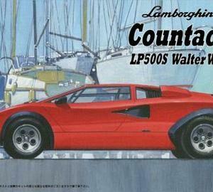 Fujimi 082783  Lamborghini Countach LP500S