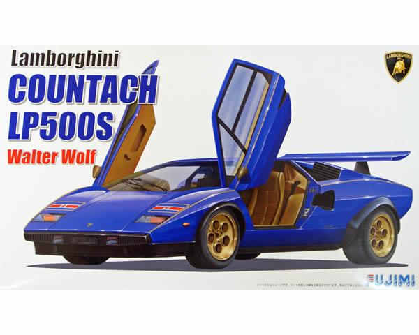 Fujimi 082820  Lamborghini Countach LP500R Walther  Wolf