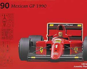Fujimi 090436  Ferrari F1-90 Mexican GP 1990 (GP8)