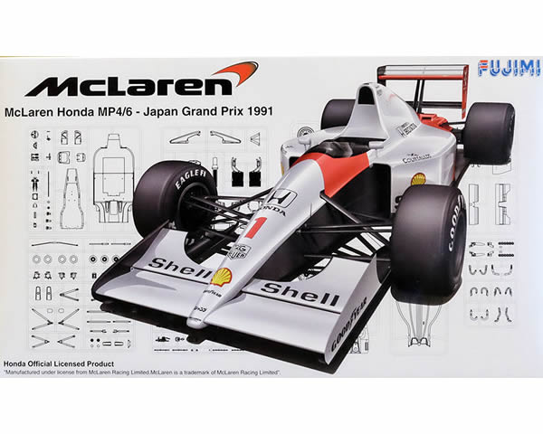 Fujimi 090443  McLaren MP4/6-Japan GP 1991 (GP10)
