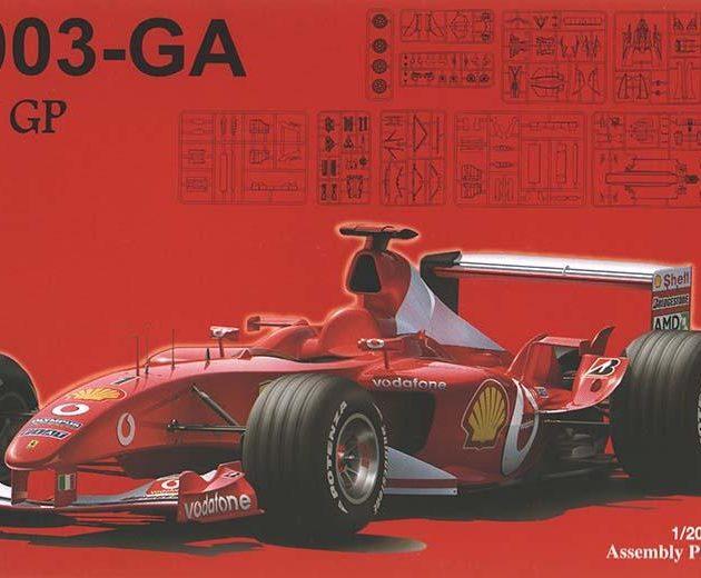 Fujimi 090863  Ferrari F2003-GA Italia (GP30)