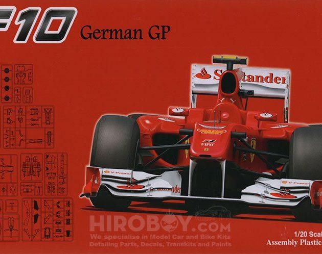 Fujimi 090948  Ferrari F10 German GP (GP41)