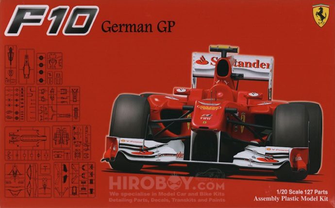 Fujimi 090948  Ferrari F10 German GP (GP41)