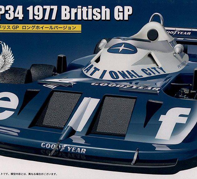Fujimi 091914  Tyrrel P34  1977 British (GP59)