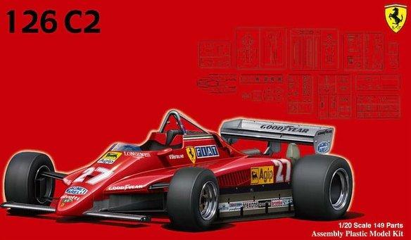 Fujimi 091945  Ferrari 126C2  1982 (GP2)