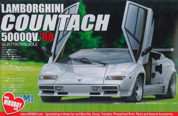 Fujimi 123677  Lamborghini Countach LP5000S