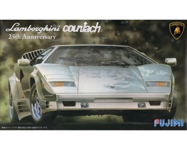 Fujimi 125510  Lamborghini Countach 25° anniversario