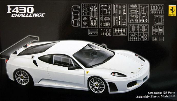 Fujimi 125602  Ferrari  F430 Challenge Racing