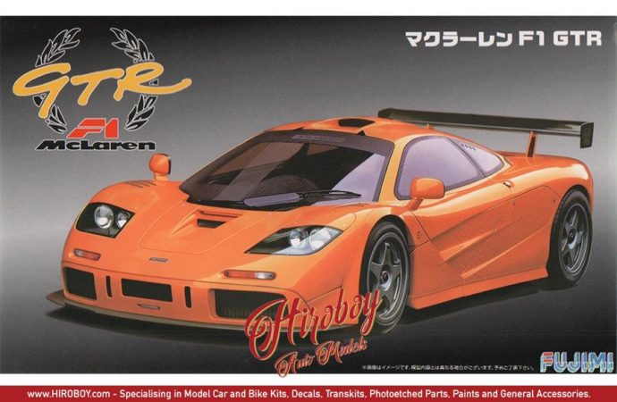 Fujimi 126210  Mc Laren F1 GTR