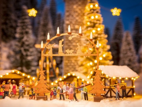 Noch 14391 Arcata ingresso mercato natalizio