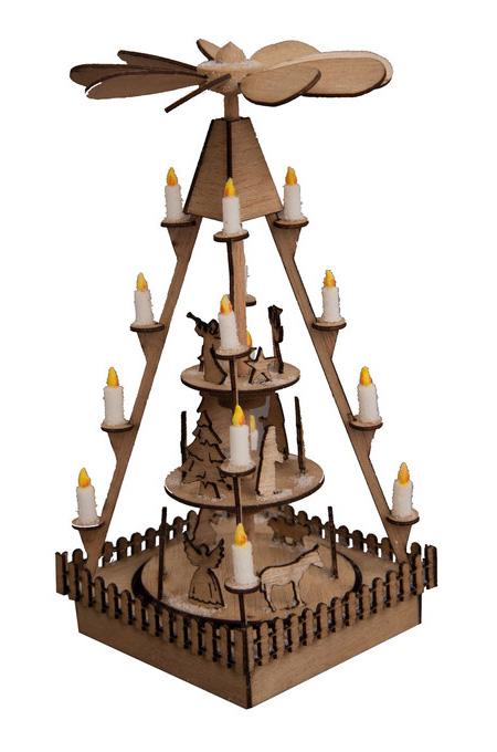 Noch 14395 Stand natalizio a piramide